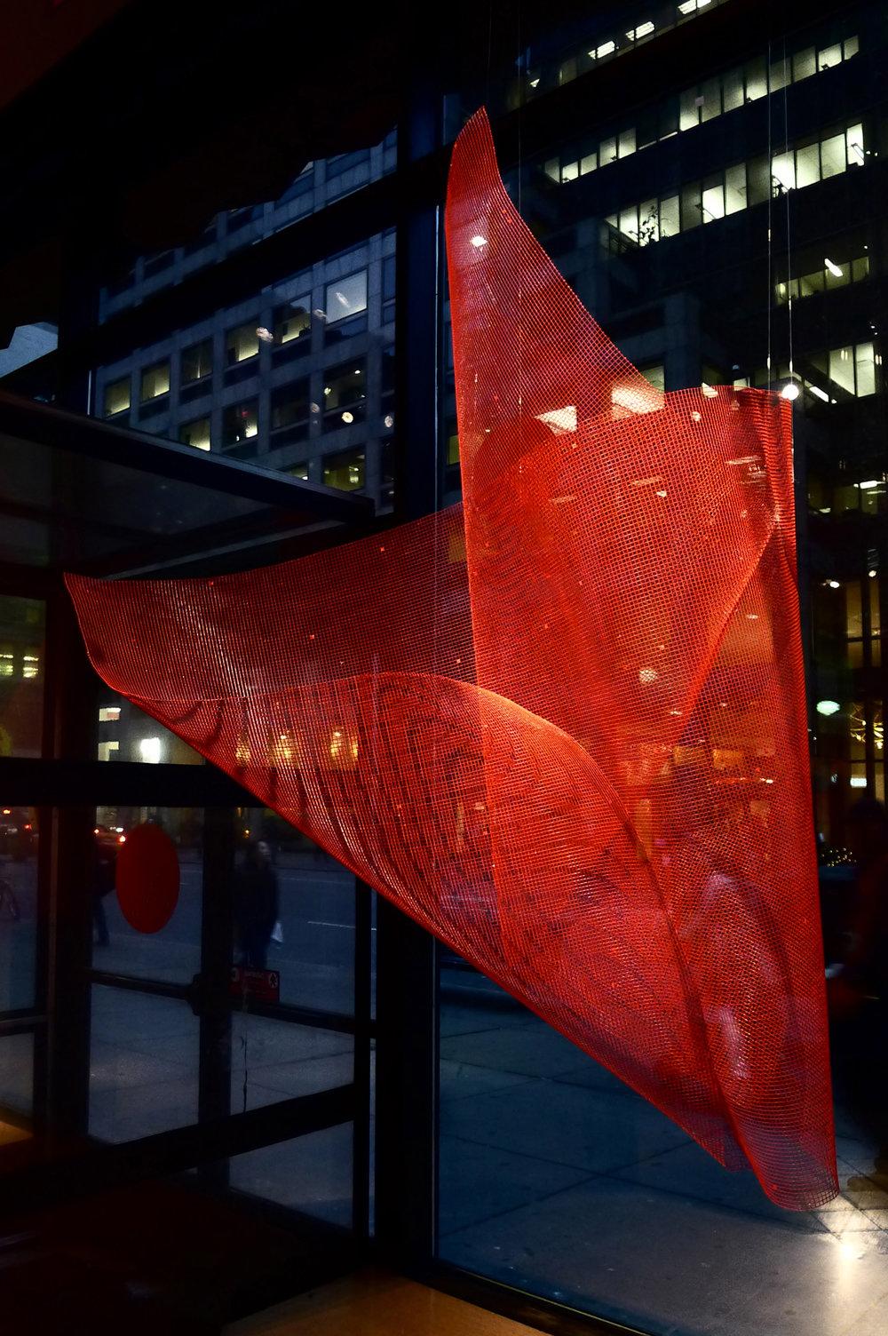 Sideways 2, New York Public Library Installation