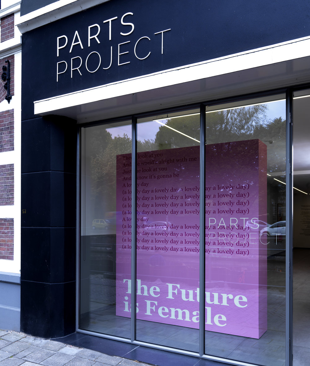 The Future is Female in collaboration with Twan Janssen @ Parts Project The Hague