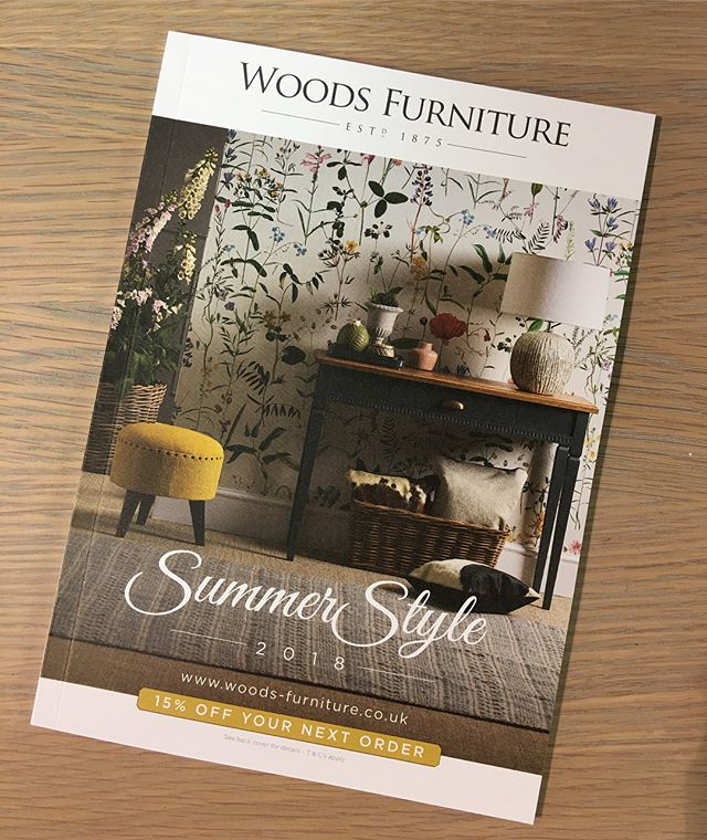 Really pleased with this, Woods Summer Brochure
