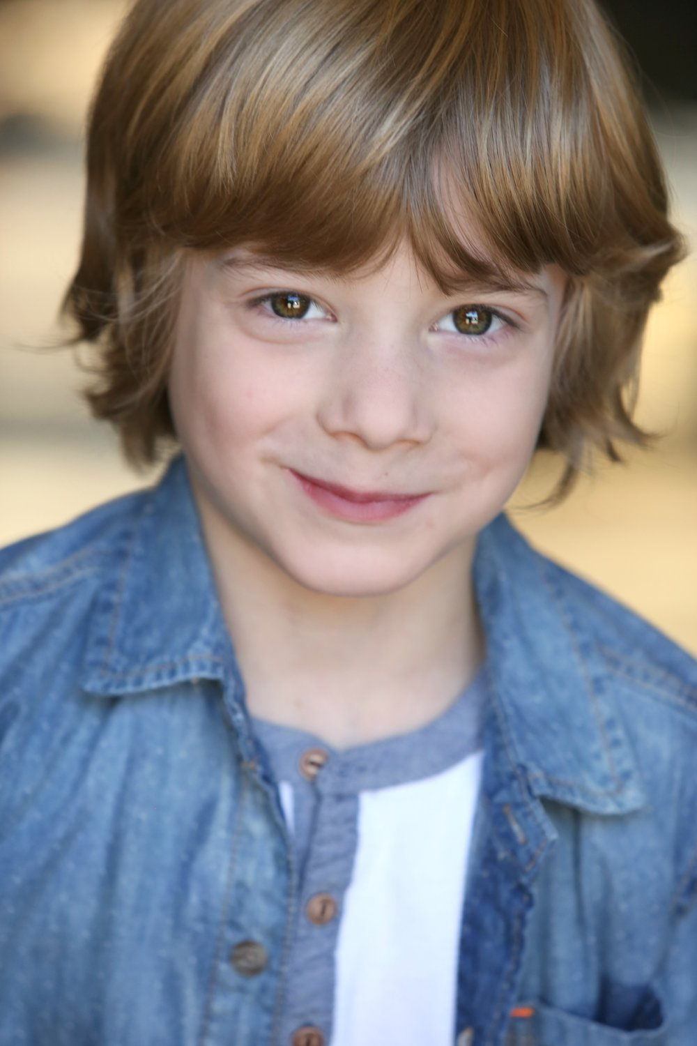 "STEVE SPOON  STEVE SPOON (Ranger Bailey) is 8 years old. He enjoys spending time with his family, playing with his sisters, basketball, being a ninja, and of course, acting! He is represented in NY, CA, and Atlanta. This was his film debut, and he had a great time with the cast and crew! Thank you to Kat and Fray for letting me have so much fun portraying the character of ""Ranger!"""