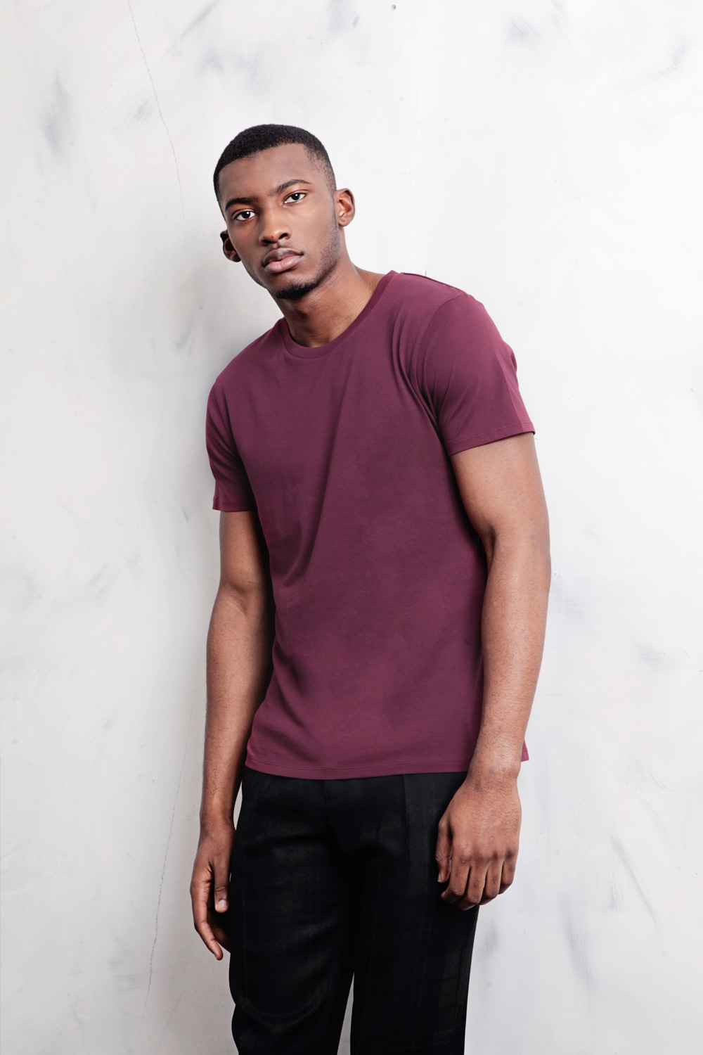 Slim Cut Jersey T-Shirt - ₦3