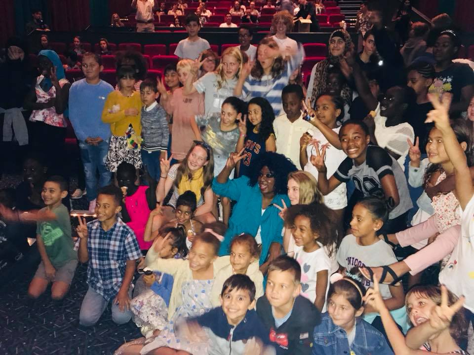 Movie screening of A WRINKLE IN TIME for 200 Kids . Giving back to the community