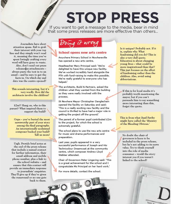 EMPRA's Susan: How to write a PR