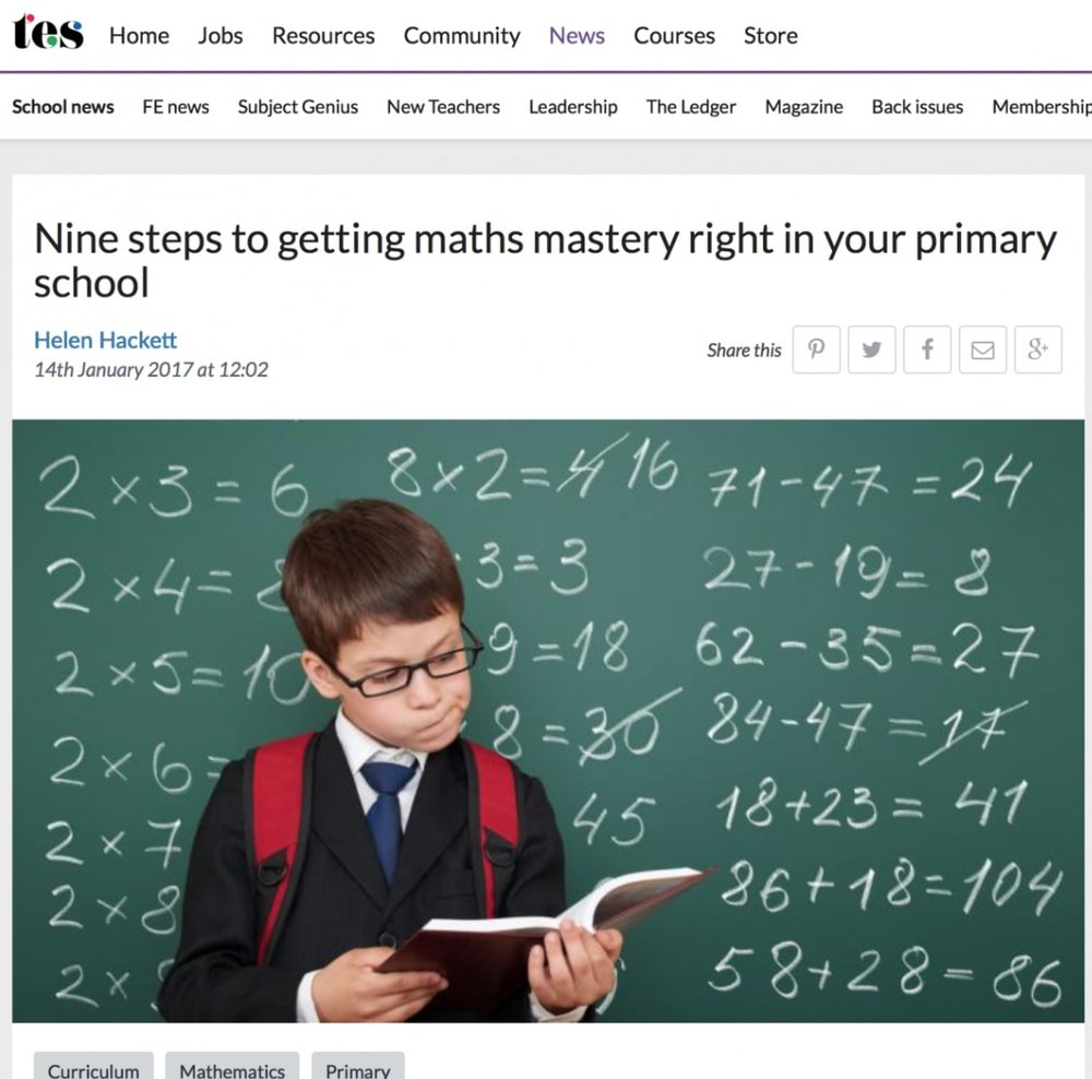 TES: Maths No-Problem!