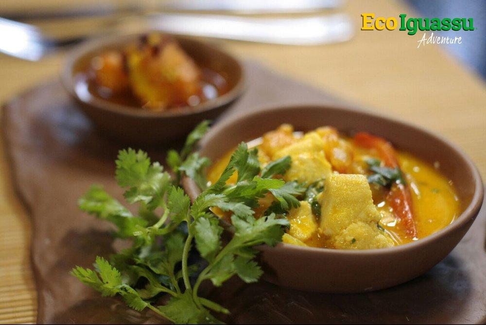 Brazilian food tales iguassu falls