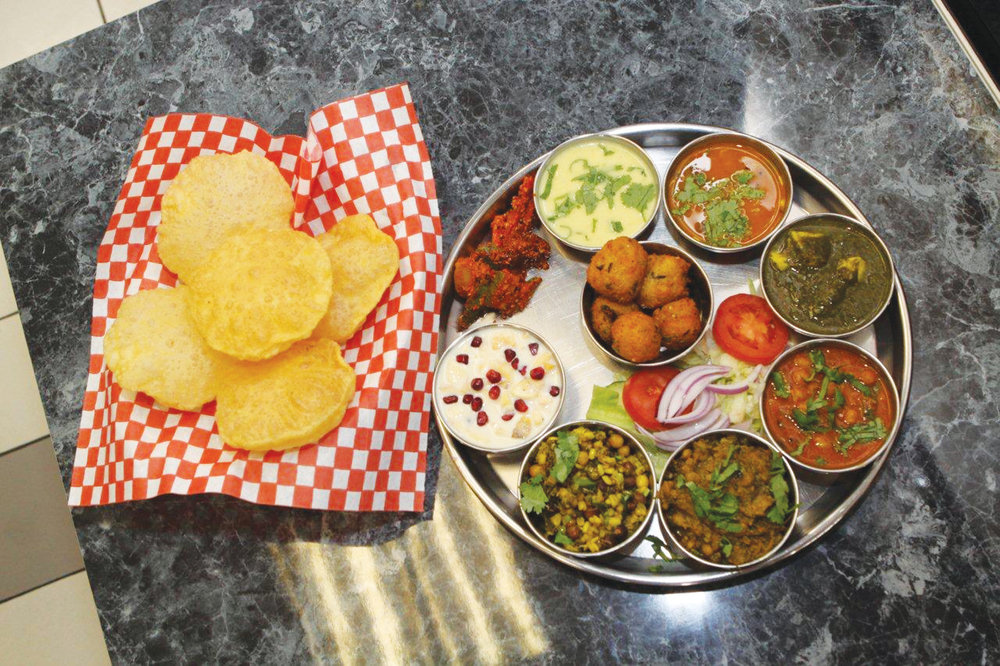 PICTURED: Vegetarian options include thalis at many restaurants in the Greater Toronto Area.  Photo by:  NARI MAVALWALLA