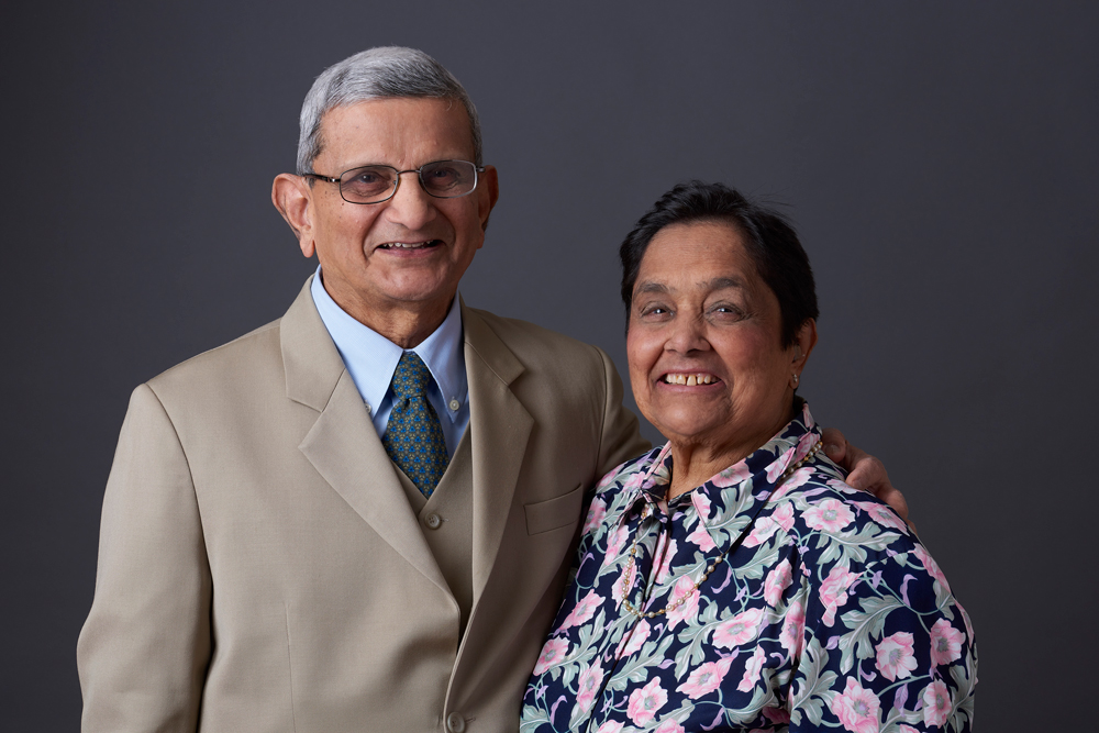Image and article courtesy:  ASHINAWBE HEALTH FOUNDATION   PICTURED: Drs Chandrakant Shah and Sudha Shah extended his nearly 50 years of commitment to Indigenous health with a gift of $100,000.