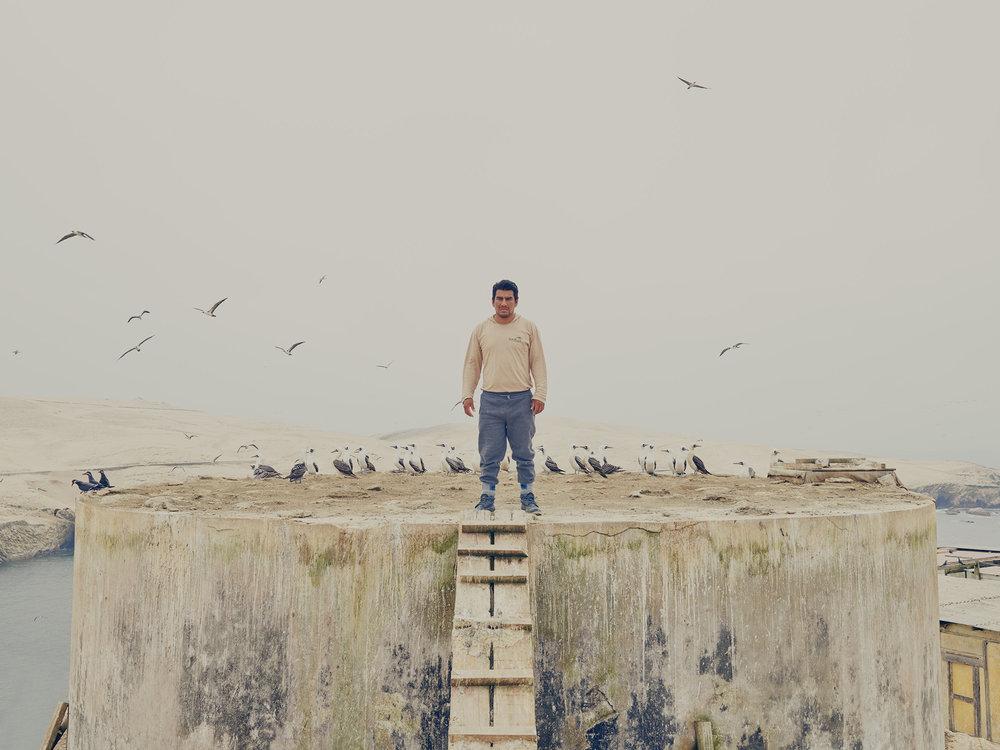 ISLAND GUARDSby Nick Ballón - Documentary project shot in Chincha Islands, Peru