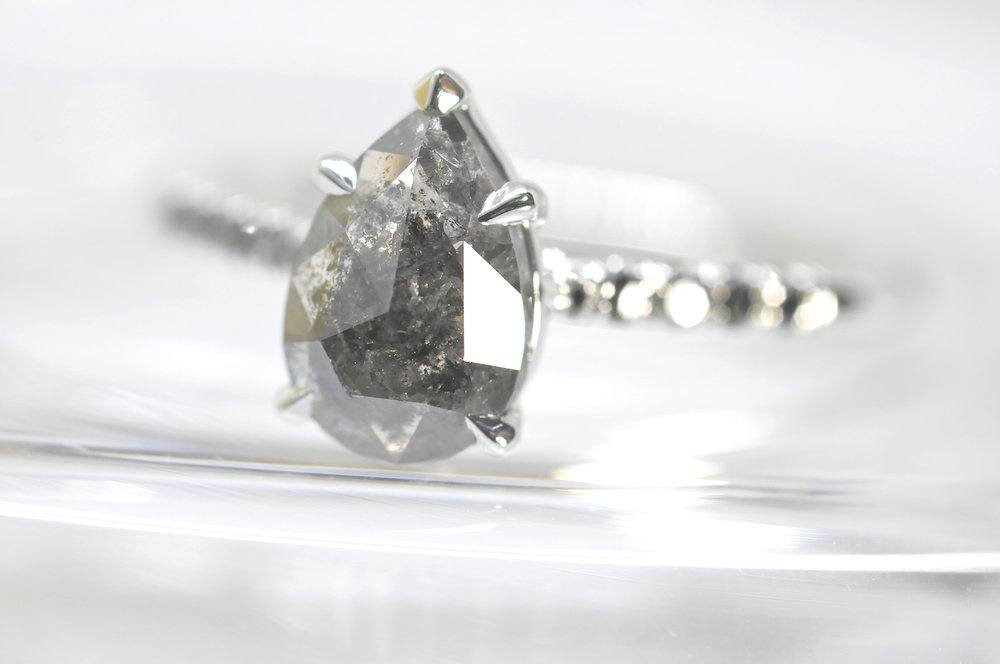 Grey Diamond Pear Engagement Ring.jpg
