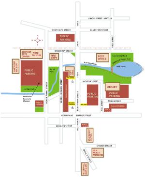 Downtown Parking Map - Making visiting Hartford easy!