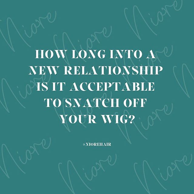 🧐Is there a 90-day period or do you introduce him to the Meek Mills from the door? What do you think?! 🤔 💭 Comment below?! 👇🏽 . . #niore #niorehair #lacewigs #hair #hairstyles #wigs #wigsnatched #wiglife #protectivestyles #naturalhair