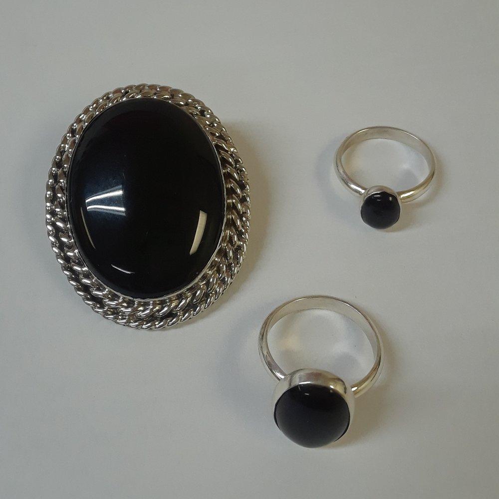 Rings & Broach