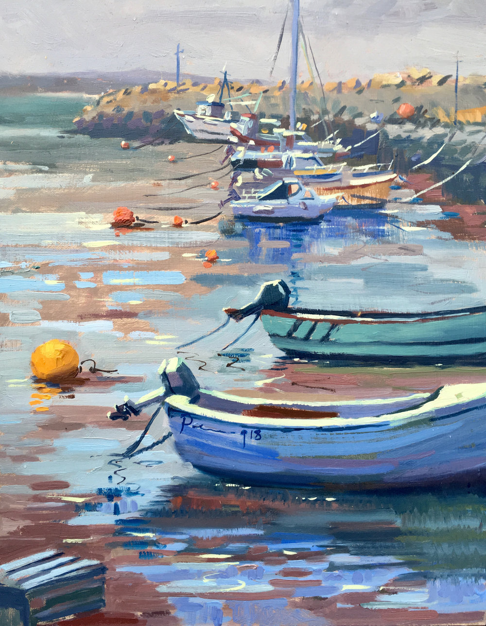 Boats at the Safe, Rosslare