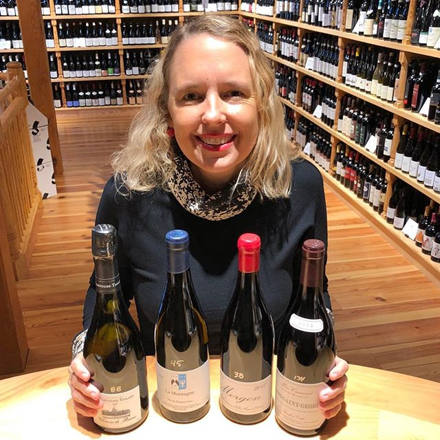 Looking for some Sunday fun? Join me tomorrow, December 23rd, for a free tasting of holiday inspired wines from 2 to 3 p.m. These are my picks for the ultimate festive meal or just super stellar gifts! Grower Champagne, Anjou Blanc, Cru Beaujolais, and Meo Camuzet — #yesplease !!