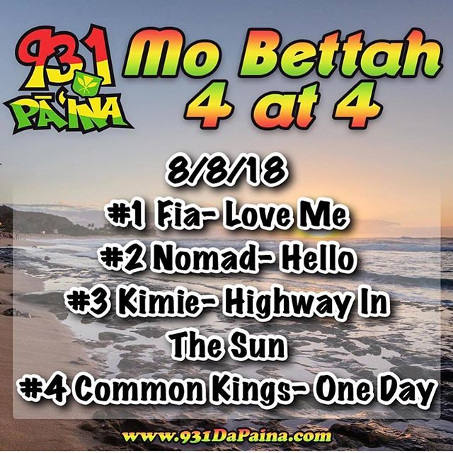 "Wow we jumped to #2 spot on the Mo Betta 4 at 4 today with ""HELLO"" thanks to all the support from all of YOU! Please keep the requests comin to @phatjoe931 and @931dapaina so we can get that #1 spot and I can snapshot it and send it to the #legend Lionel Richie!! #hello #nomadcrew"