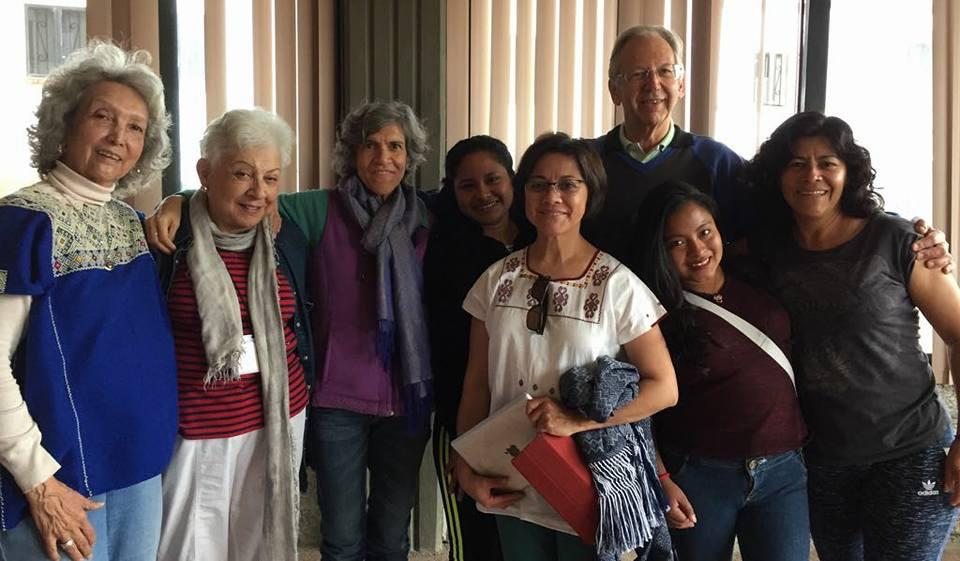 A pic from one of the discussion groups at the last wisdom school in Mexico