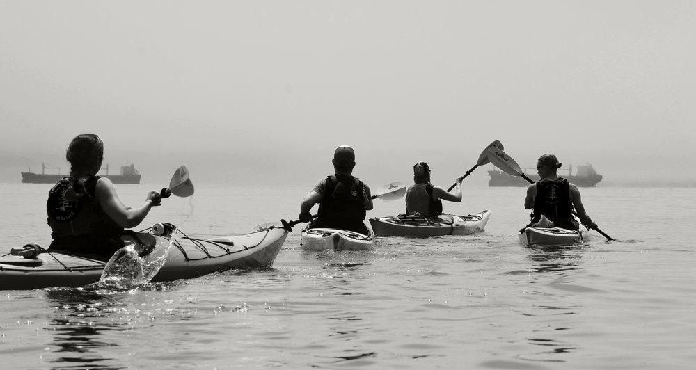Foggy Kayak with 2 ships.jpg