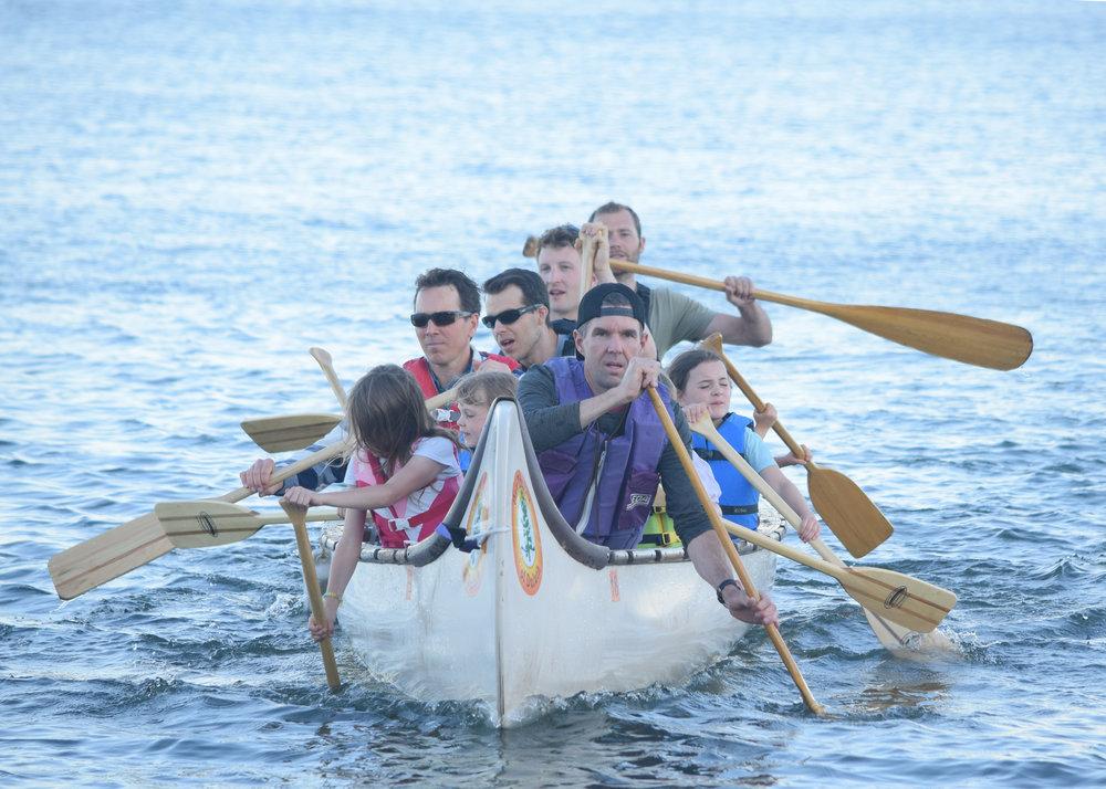 Voyageur Canoe - 2 hours