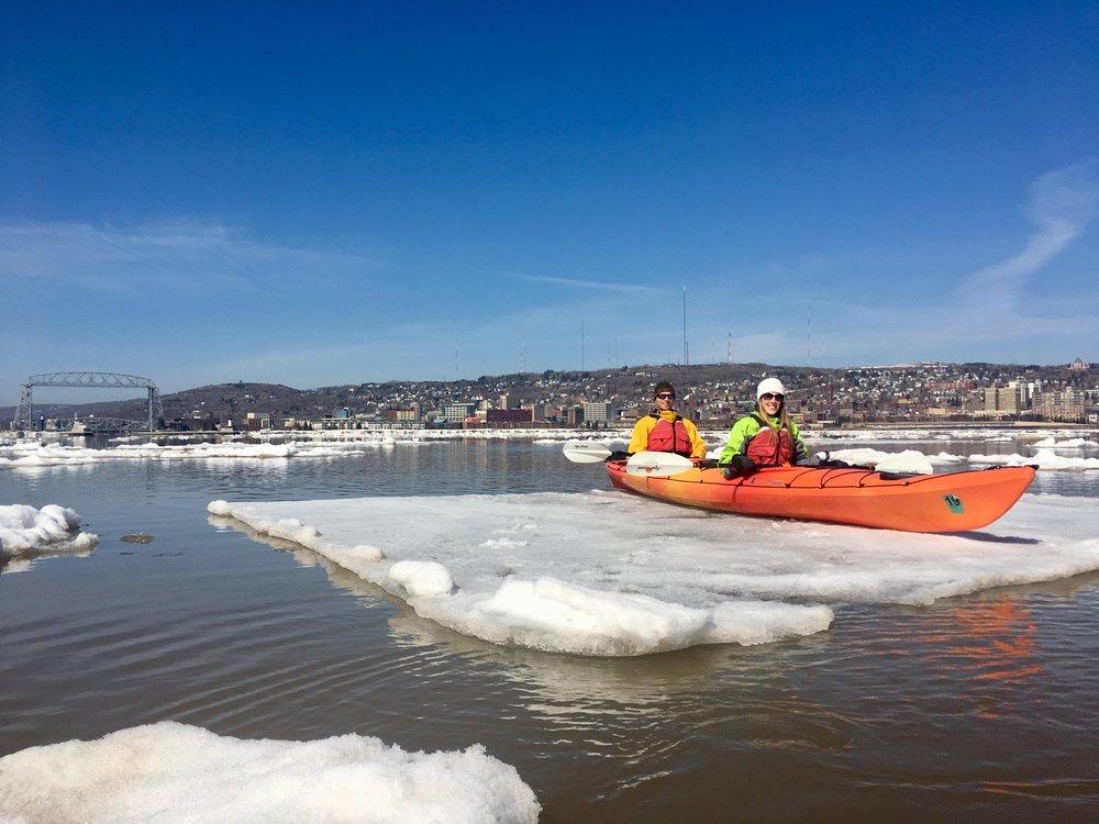 Iceberg Kayak