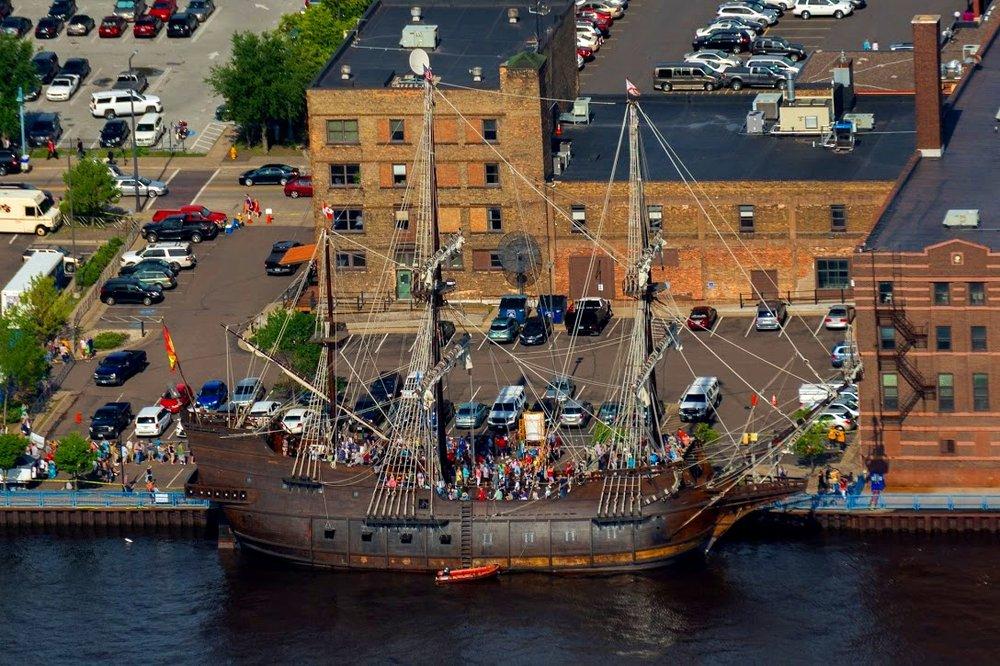 Tall Ships Kayak Tour