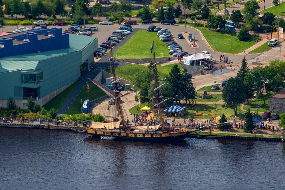 Tall Ships Big Canoe