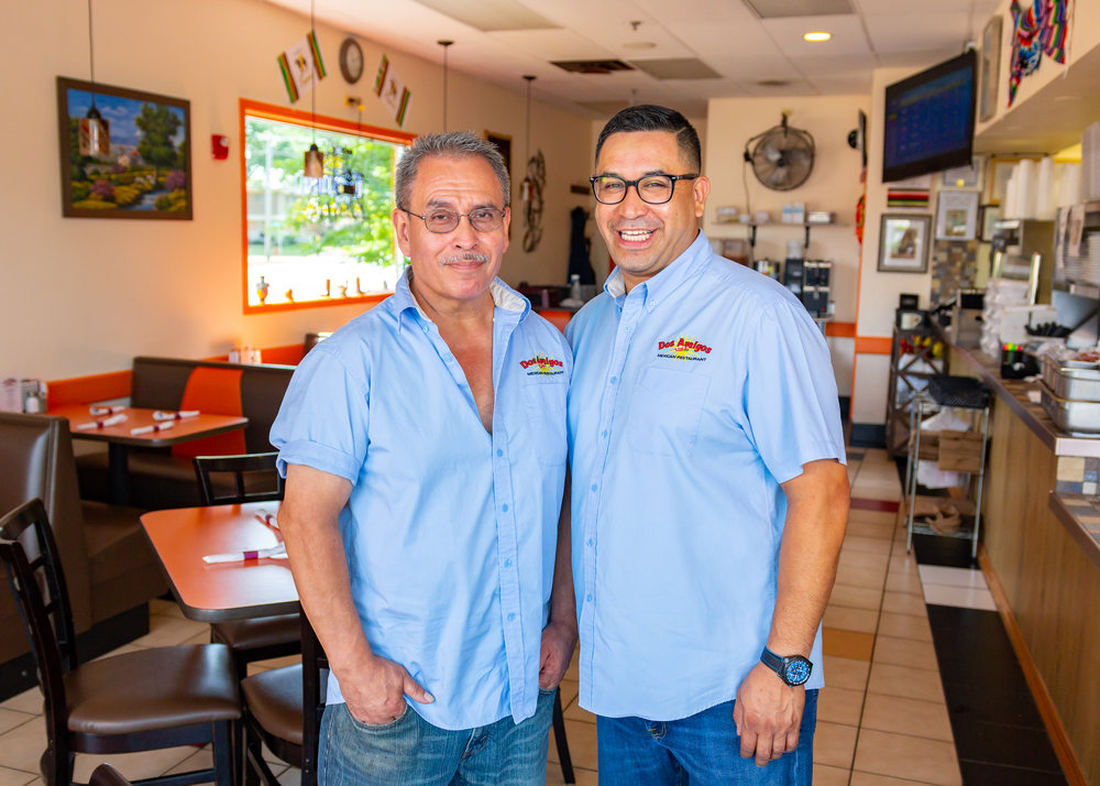 Owners Sergio Casillas (left) and Oscar Garcia (right)
