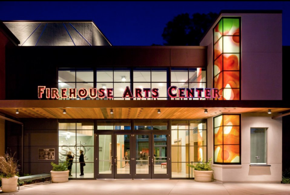 Inspire students perform on a professional stage at the Firehouse Arts Center -