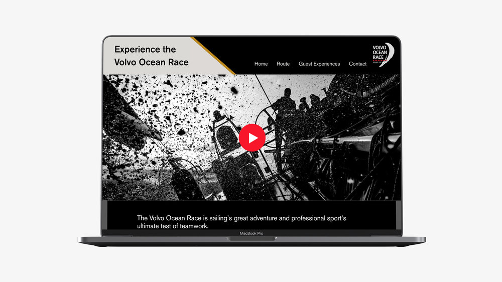 VOLVO OCEAN RACE - CORPORATE DESIGN / EDITORIAL