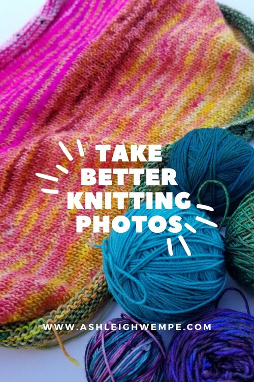 Take Better Knitting Photos With Your Phone