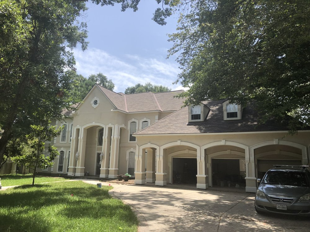 All new roof and full exterior paint - This customer loved their new roof so much, they hired us to paint the full exterior of their home as well. All turned out beautifully.