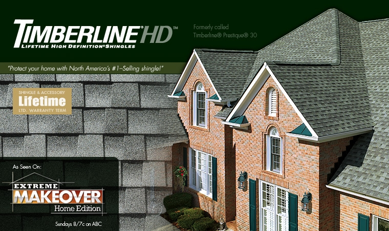 GAF Timberline HD Laminated Shingles