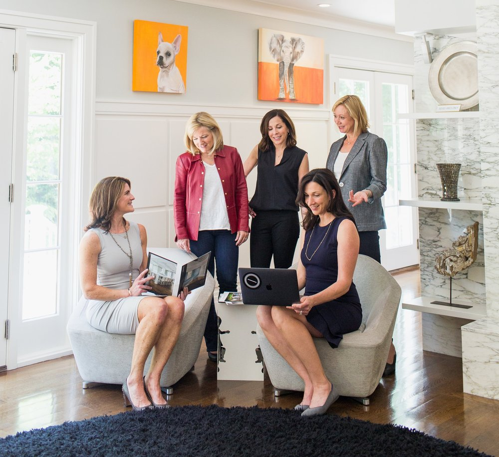 Meet the Team:  (top row from left to right)  Donna Maley ,  Lynn Donahue ,  Stephanie Burns ;  (bottom row from left to right)  Maura Dolan , Amiee Munro