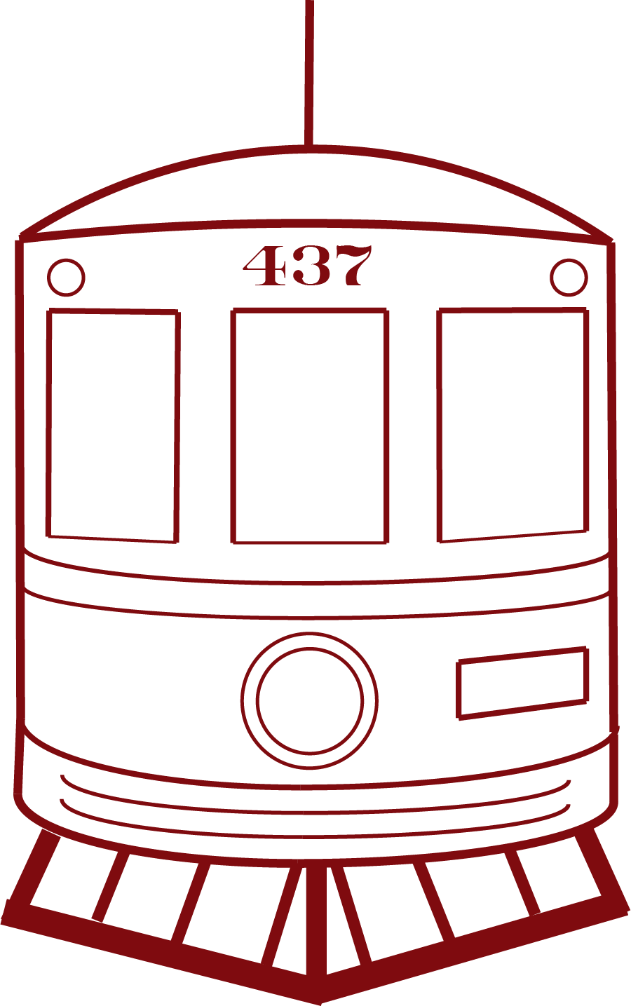 437, an interurban built for intercity passenger travel via electric  railway with frequent and numerous stops, is considered one of the last  great electric ...
