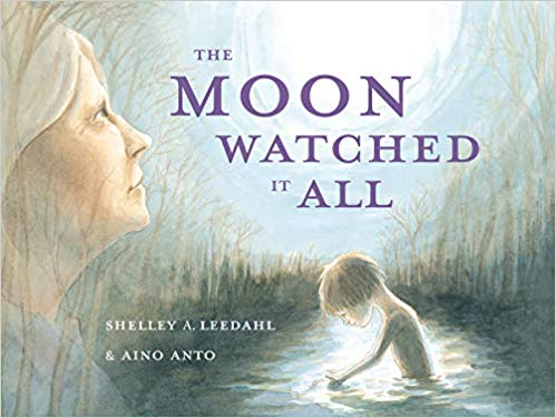 The Moon Watched it All, by Shelley A. Leedahl - Published by Red Deer Press: February 7, 2019 in Canada, April 15 2019 in the United StatesOn the front cover, Mirada and the nameless boy are each engrossed with their own thoughts and solitude. What is their connection and how do things change for them over the course of 32 rhythmic and poetic pages?The language in this book is evocative and rich. The images respond to and deepen the experience of story, engaging readers and listeners at any age.