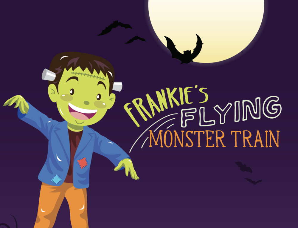 FRANKIE'S FLYING MONSTER TRAIN  October 6th – 31st in Center Court