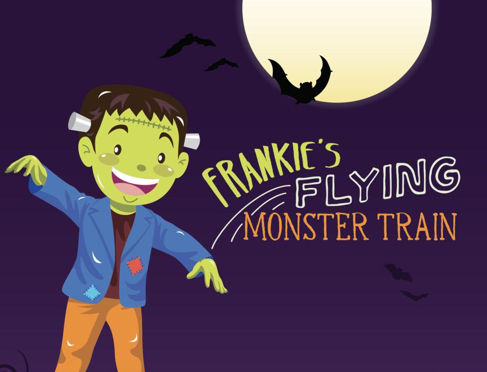 FRANKIE'S FLYING MONSTER TRAIN  October 6th – 31st in Center Court