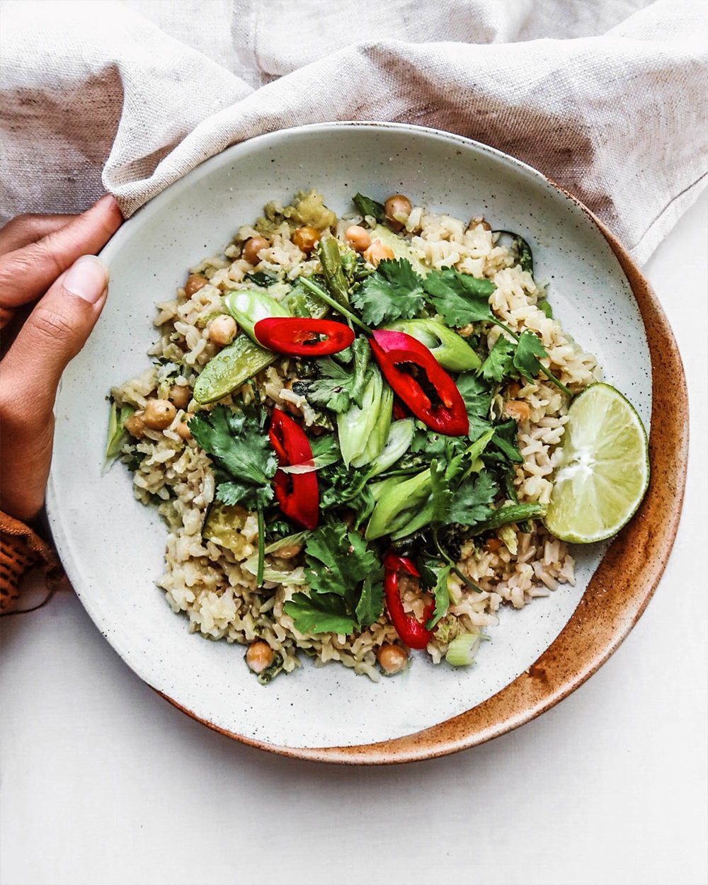 Thai Green Curry - get you greens in!