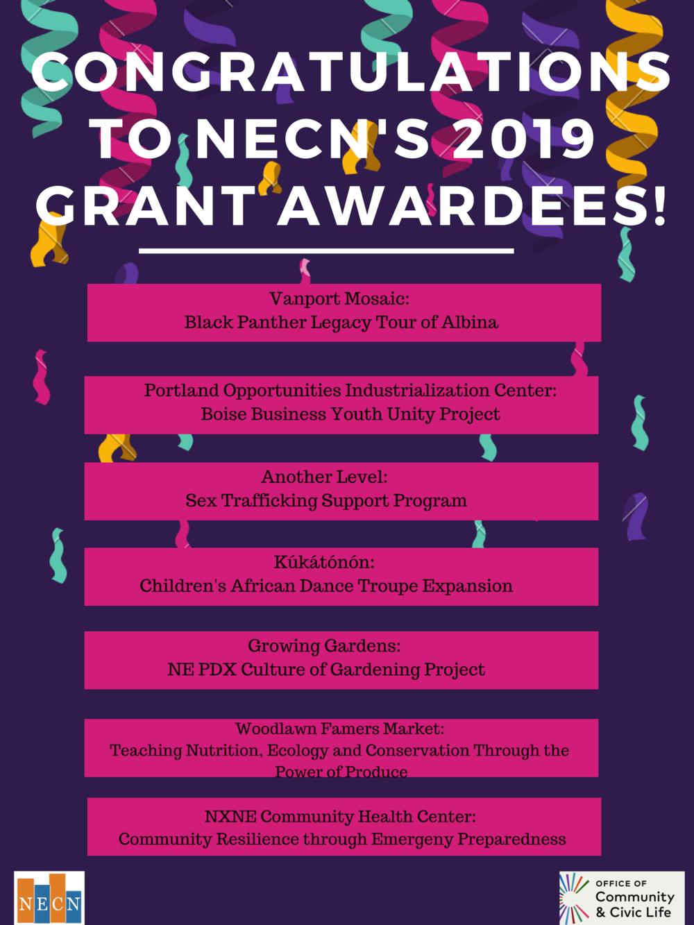 2019 Grant Awardees Congrats (1).png