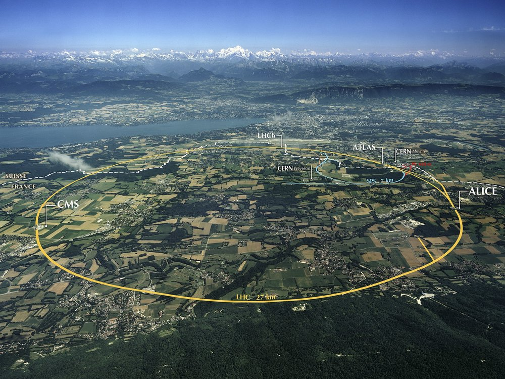 Aerial View of the CERN, Maximilien Brice (CERN)