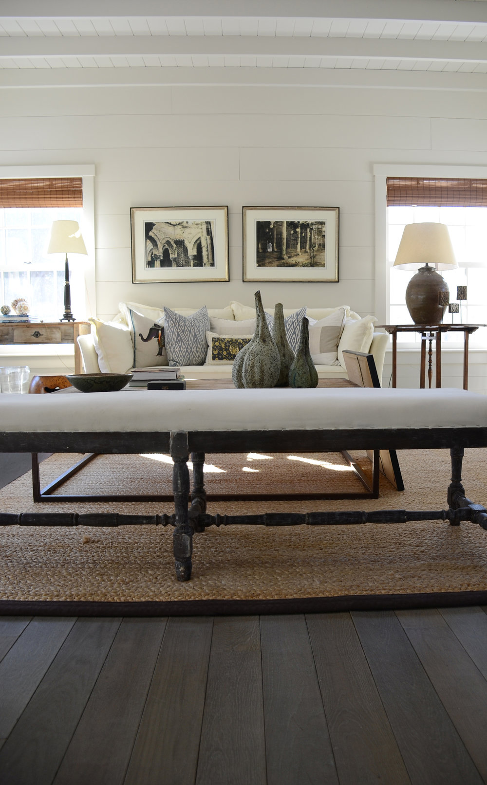 "PLANK IN ""CENDRE""  - BRIDGEHAMPTON NY"