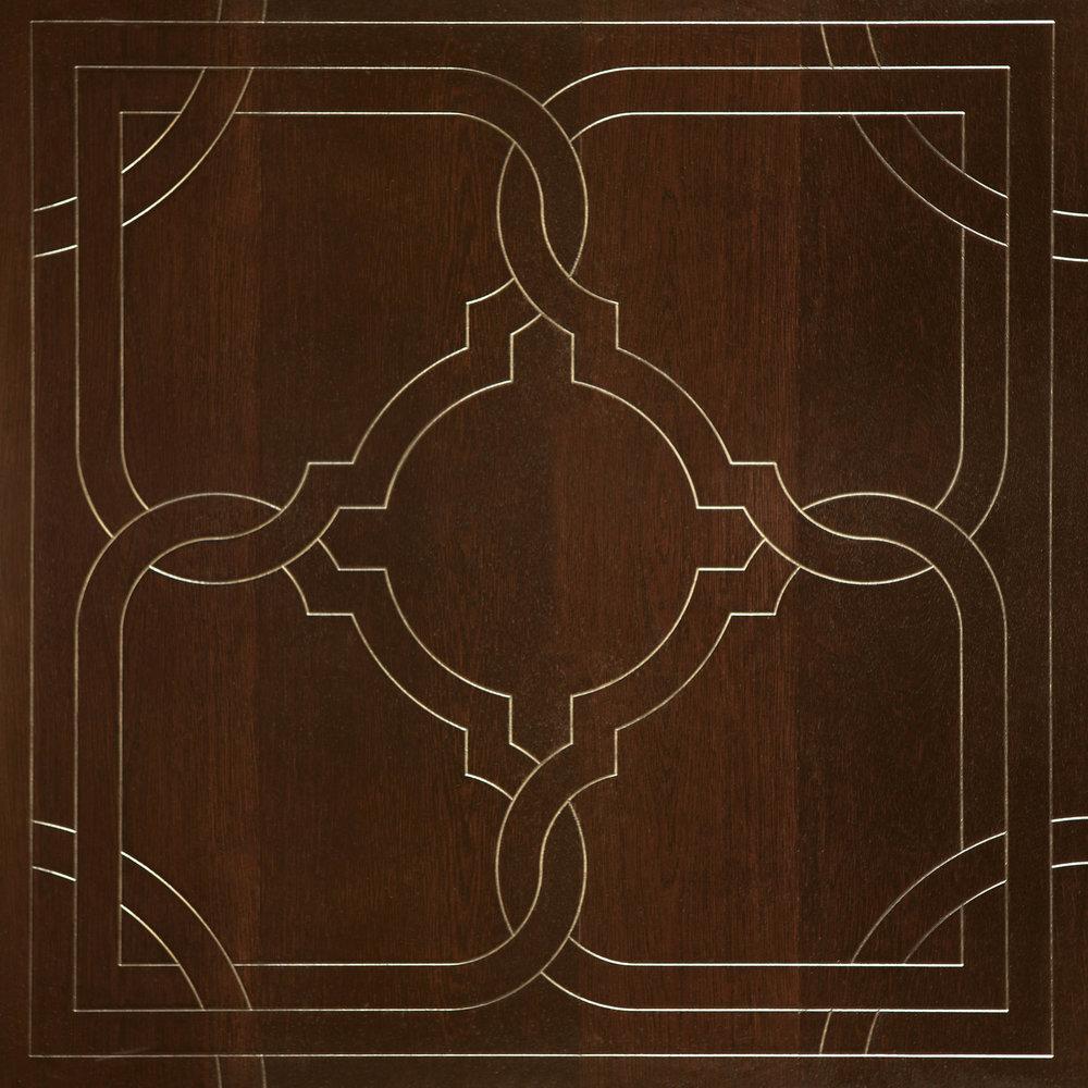 Bespoke Panel - Brass Inlay