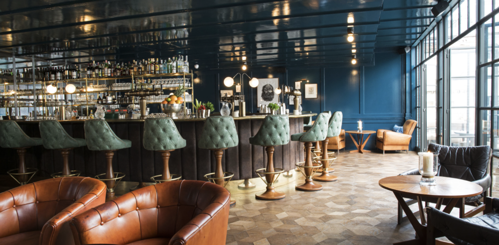"LA BOITE PARQUET IN ""CHEMIN DE FER""  - LONDON SOHO - SOHO HOUSE GROUP"