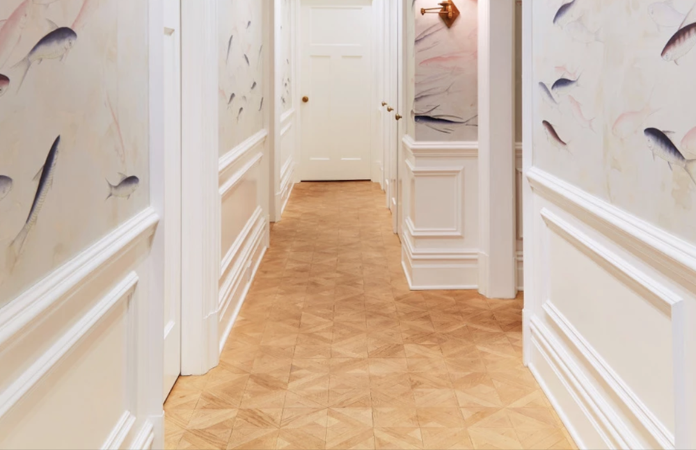 "DIAMANTE PARQUET IN ""NATURAL""  - NYC UES - BEST & COMPANY"