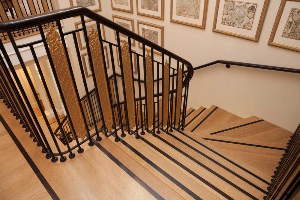 Walking On Wood - Stair