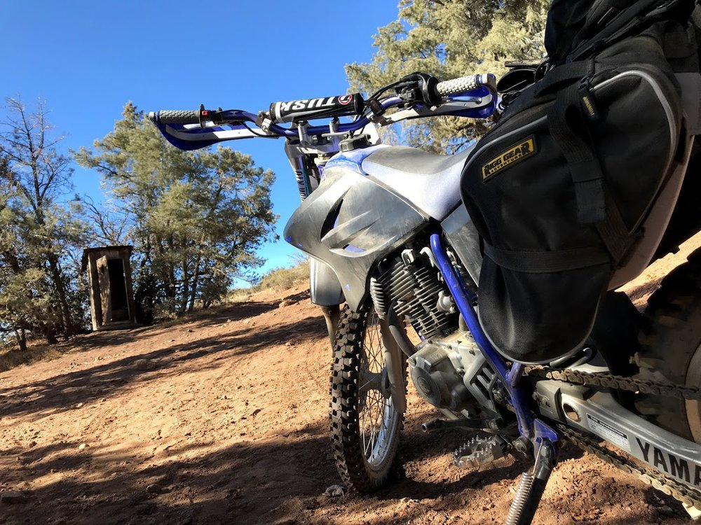 Yamaha TTR230 with Nelson Rigg Dual Sport Saddlebags, Kenda Parker DT Tires & Tusk D-Flex Handguards
