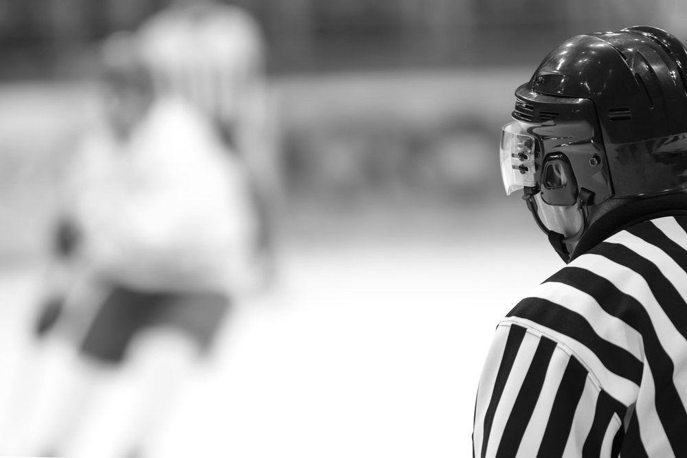 When an NHL player was sued for $10M for a hit to an on-ice official, he turned to SVR.