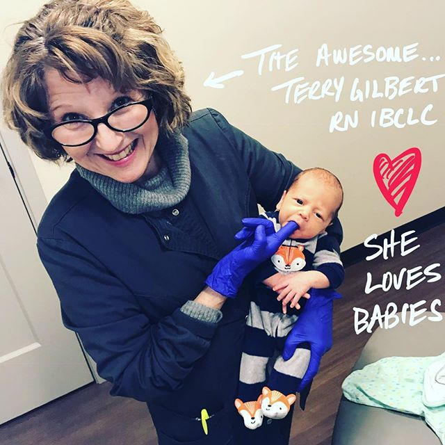It's true. She. Is. The. Best. Without Terry, we couldn't do what we do. And we know our babies and families are conquering their challenges because she is #radicallykind, #fiercelypatient #disruptivelybrave and #defiantlyjoyful. All the 🤗 and 💛 to our amazing RN IBCLC, Terry!! - - - - - #rnibclc #lactationconsultant #lactation
