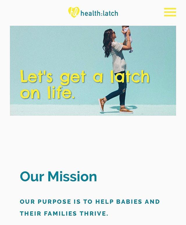 We are so excited to show off our new 👶🏻: www.healthlatch.com! Completely mobile-friendly and easy-to-use, we've also added a blog to highlight all the amazing stories our families share with us. We also have some future tricks up our sleeve, so be sure to watch for more updates. Check out the site and let us know what you think! Happy weekend!! 💛