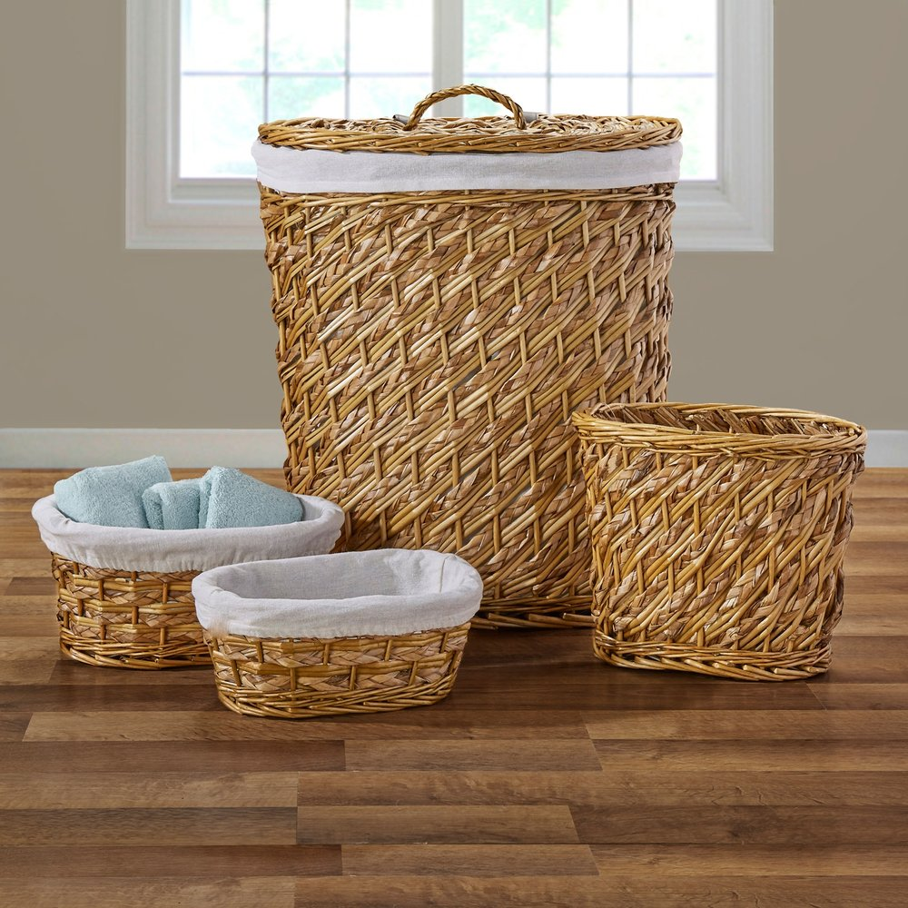 Hudson Hamper Set | 4 piece set