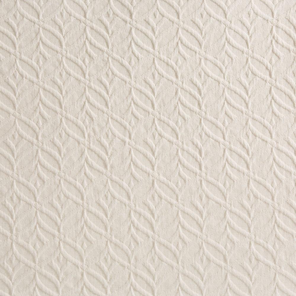 Infinity Bedspread | Matelassé detail
